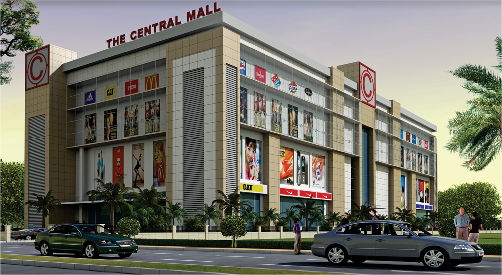 Span Structures The Central Mall Amp Multiplex At Lucknow U P