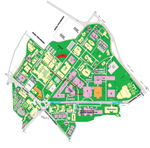 Map of Chhatrapati Sahuji Maharaj Medical University (C.S.M.M.U.),Lucknow