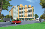 Multi - Storeyed Residential Apartment Tulip Tower at Barielly, U.P.
